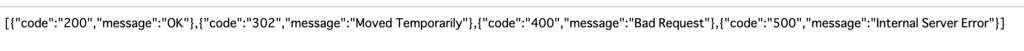 </>のアイコンをクリックすると、READ(GET)のAPI結果が表示されます。
